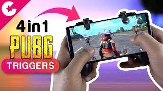 Best PUBG Mobile Triggers!! 🔥🔥 4 in 1 PUBG Trigger & Gamepad