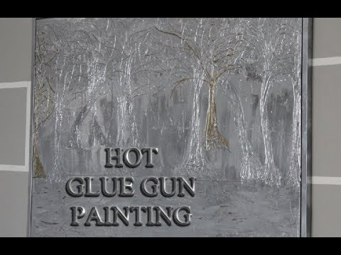 Hot Glue Gun Picture Painting You