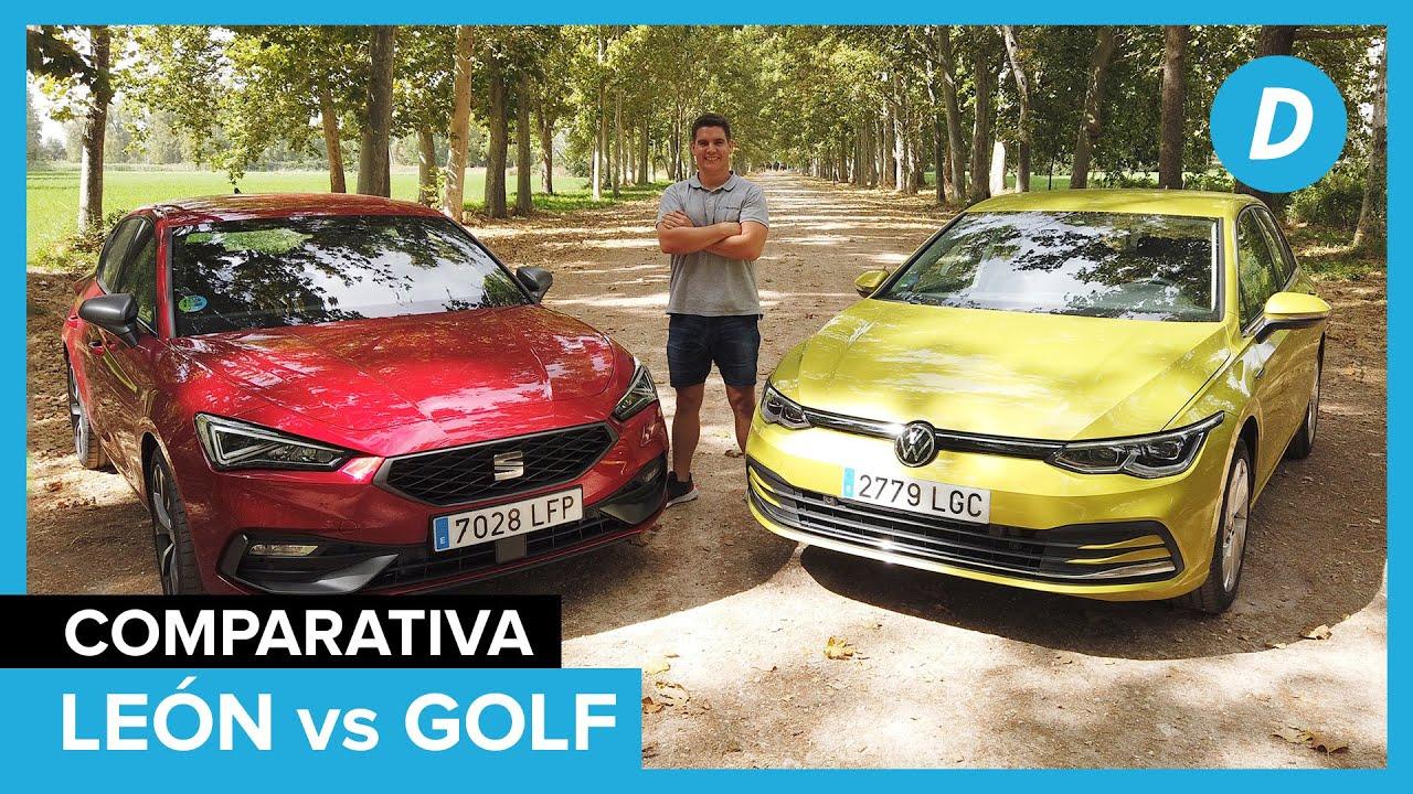 Comparativa compactos: SEAT León 2020 vs Volkswagen Golf 8 | Review en español | Diariomotor