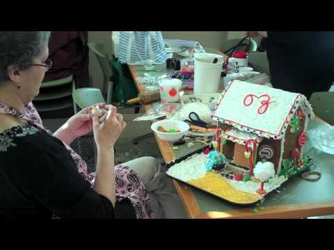 Ohio University Culinary & Dining Operations Gingerbread House Decorating Contest