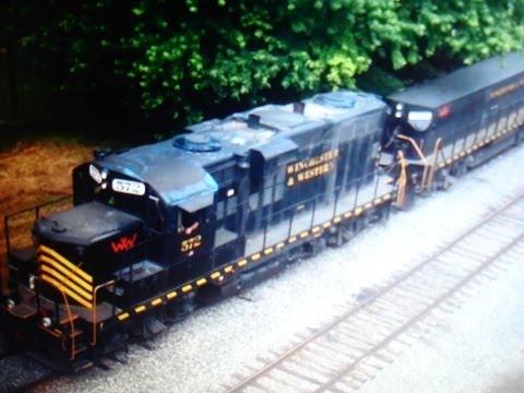 Winchester & Western Train With Yard Slug