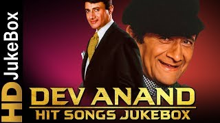 Dev Anand Hit Songs Jukebox | Evergreen Old Hindi Songs Collection | Best Of Dev Anand