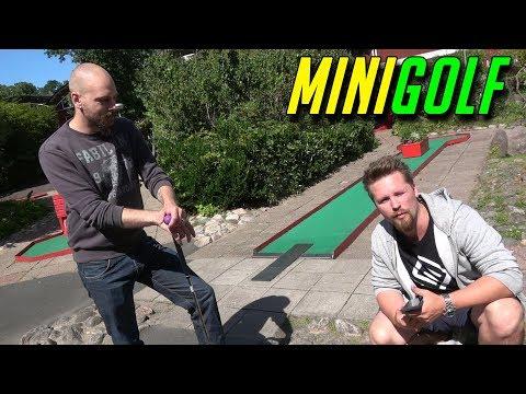 MINIGOLF med SoftisFFS Golf with friends IRL