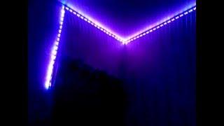 Подсветка потолка светодиодной лентой(, 2015-12-17T14:02:24.000Z)