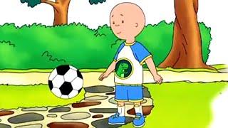 Caillou en Français - Caillou le Footballeur | dessin animé en francais | conte pour enfant