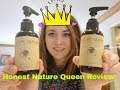 Honest Nature Queen Beauty Review- Shiny Hair, Color popped