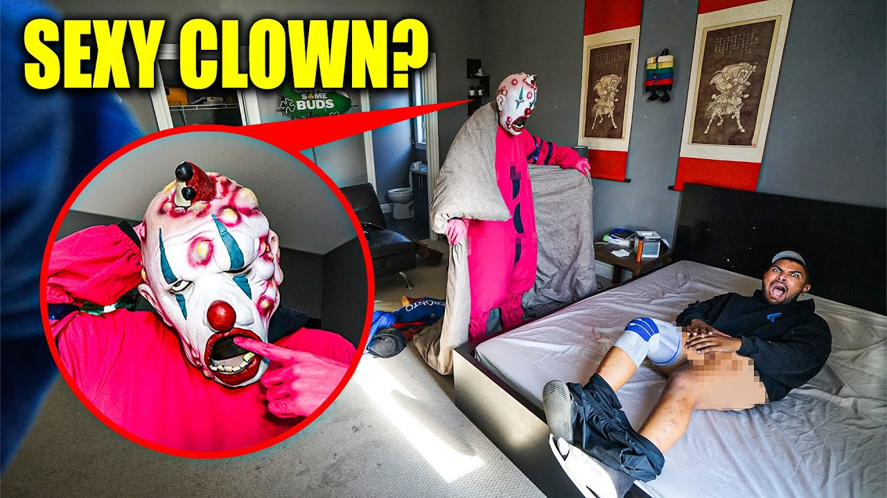 Download I CAUGHT MY FRIEND BEATING HIS MEAT WITH A SEXY CLOWN!! (WHY IN MY ROOM!?)