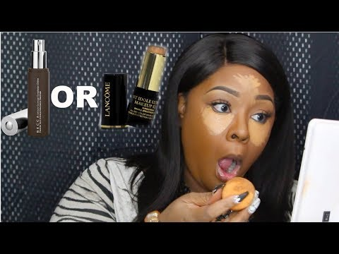 WHICH FOUNDATION PLAYED ME??? BECCA OR LANCOME?? REVIEW/DEMO