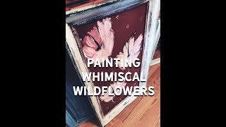 Living The Creative Life: Paint Shabby Wild Flowers