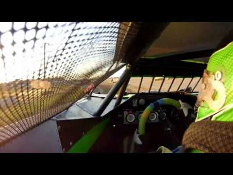 7/1/2016 BMP Speedway heat race (in car)