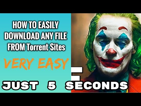 How To Download Any File From Torrent Sites