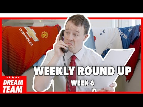 PREMIER LEAGUE ROUND-UP: MATCHWEEK 6