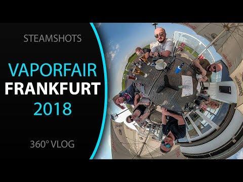 360° VLOG von der VaporFair Messe 2018 in Frankfurt #510friends