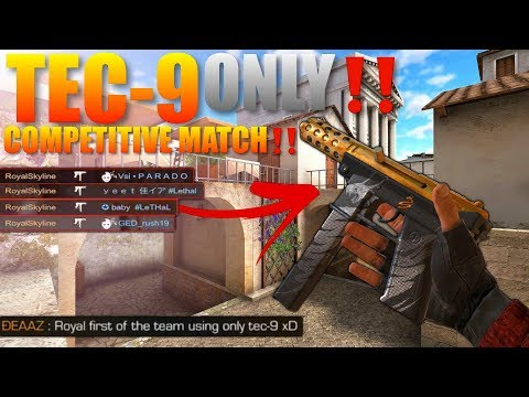 StandOff 2 Destroying people in Competitive Ranked With Only a Tec-9‼️