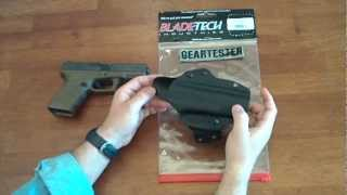 Blade-Tech Eclipse OWB Holster (Table Top Review) by TheGearTester