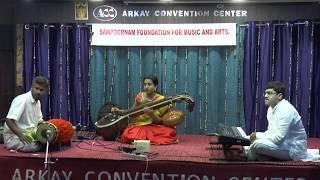 Sampoornam Foundations For Music and Arts-S.V. Sahana Veenai..