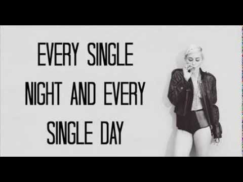 Do My Thang - Miley Cyrus (LYRICS)