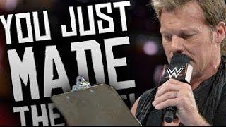 WWE Chris Jericho - 'The List of Jericho' Funniest Moments 2017! (So Far)