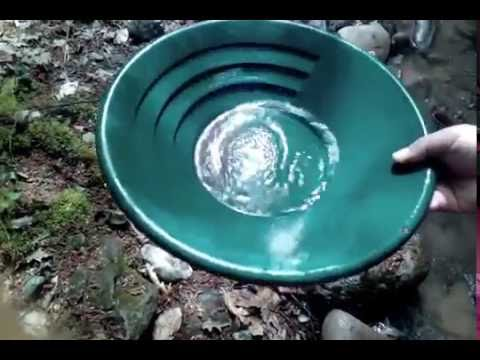 Gold panning concentrate