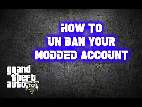 GTA 5 ONLINE HOW TO UN BAN YOUR ACCOUNT!!!!
