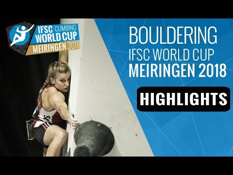 IFSC Climbing World Cup Meiringen 2018 - Bouldering Finals Highlights