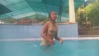 Swimming hahah