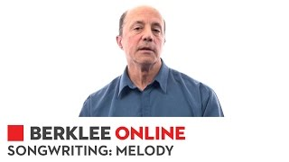 Berklee Online Course Overview | Songwriting: Melody