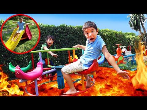 ตามติดชีวิตสกายเลอร์ บรีแอนน่าในวันหยุด เล่นสนามเด็กเล่นอยู่ดีๆ มีลาวามา ใครจะโดนเผากันน้า?