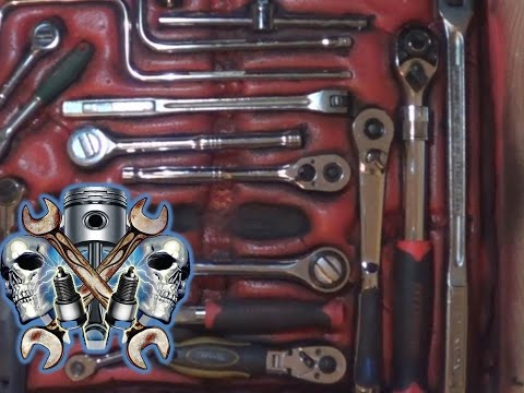 How to shadow a toolbox without tracing or cutting part 2