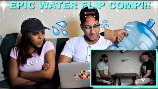 Video Water Bottle Flip Edition By Dude Perfect Reaction!! download MP3, 3GP, MP4, WEBM, AVI, FLV November 2018