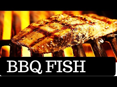 BBQ Grilled Fish Yellowtail