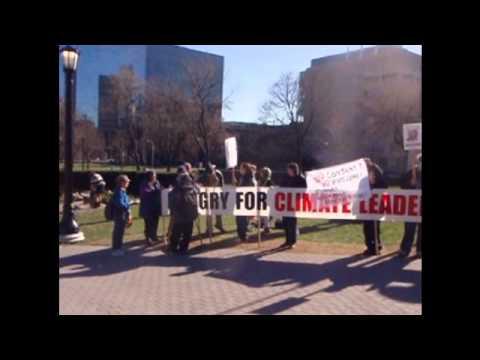 Toronto in solidarity with Waglisla (Bella Bella) fast to protest Enbridge Pipeline - Day 2.