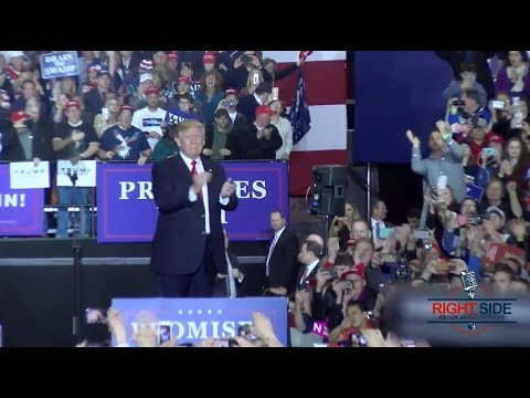 President Donald Trump Holds Rally in Washington, MI (FULL HD) 4/28/18