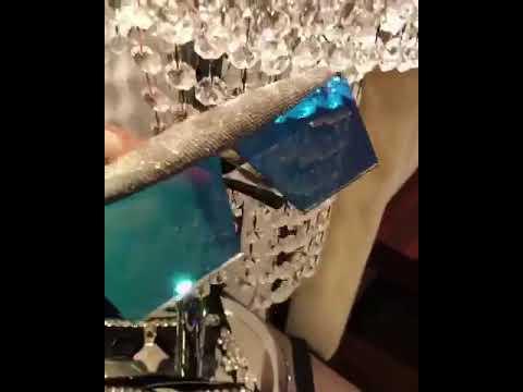 Dazzling blue couture eyewear: Slay Network