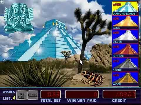 Игровые автоматы Aztec Gold (Пирамиды) - Слотспапа