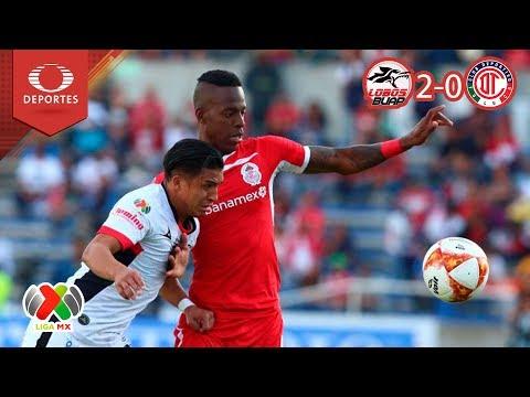 Resumen Lobos BUAP 2 - 0 Toluca | Apertura 2018 - Jornada 17 | Televisa Deportes