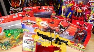 キョウリュウジャーが早くも海外進出!初めてパワーレンジャー玩具を輸入してみた!パワーレンジャーダイノチャージ  / Power Rangers Dino Charge thumbnail