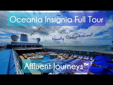 Oceania Insignia Full Tour