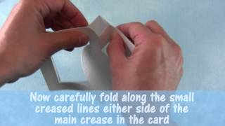 How Do I Fold The Fancy Fold Card Blank From The Staf Wesenbeek Card Kit.mp4