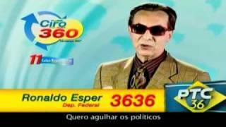 As campanhas eleitorais mais engraçadas dos famosos 2010 - 1º Semana