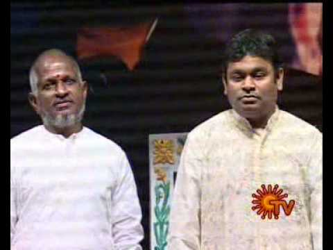 Irai Vanakkam by Chitra @ A R Rahman Honored by Cine Union
