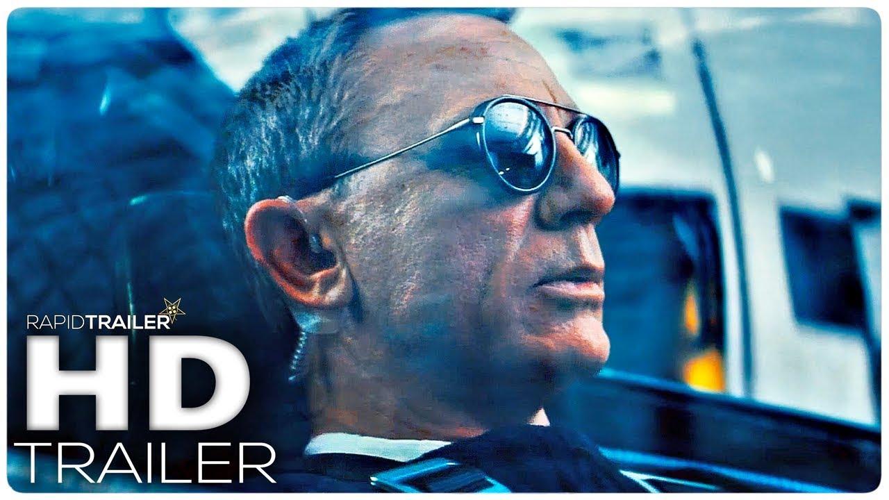 JAMES BOND 007: NO TIME TO DIE Super Bowl Trailer (2020) Daniel Craig, Action Movie HD