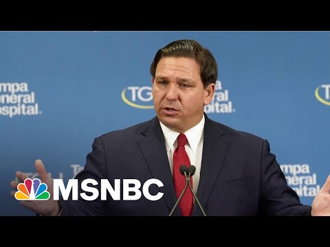 FL Gov. DeSantis Raises Millions From Donors As State Grapples With Covid Surge