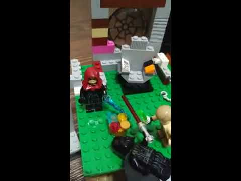 Лего самоделка звезда смерти...(2часть)