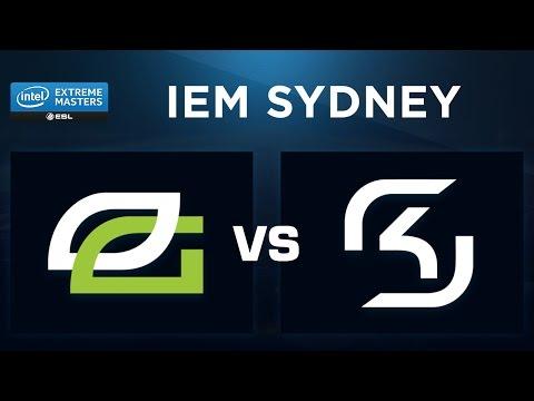 CS:GO - OpTic vs SK - Overpass - IEM Sydney 2017 - Demi-finale - Map 2