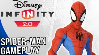 Disney Infinity 2.0 Marvel Super Heroes - Spider Man Gameplay