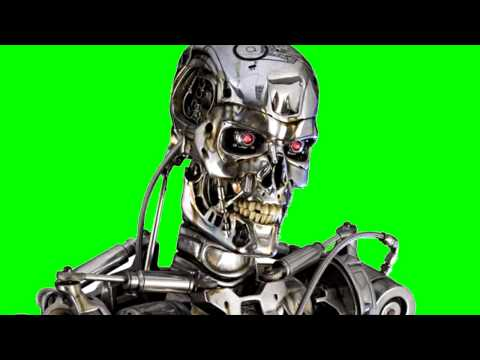 robot real green screen thumbnail
