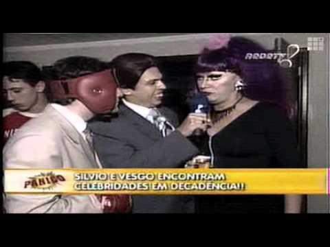 Pânico na TV - Repórter Vesgo e Sílvio - Na festa da ...