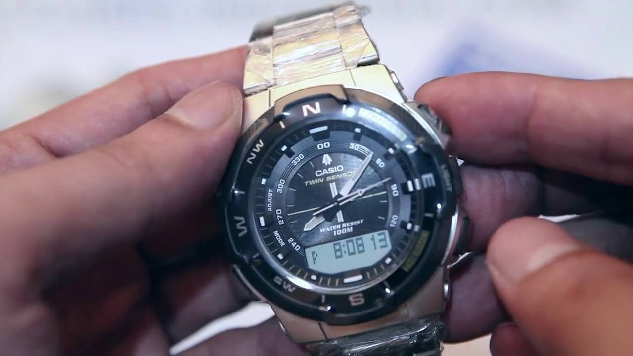 1e454b122ed Casio outgear SGW-500HD-1B - YouTube