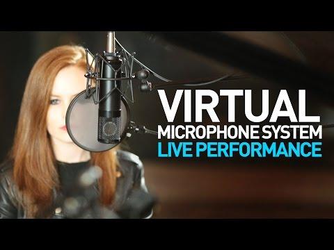 Virtual Microphone System Live Performance feat Greta Karen